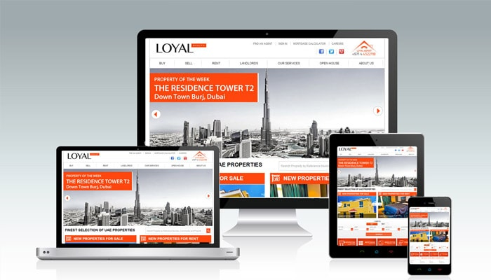 Loyal UAE Website & CMS