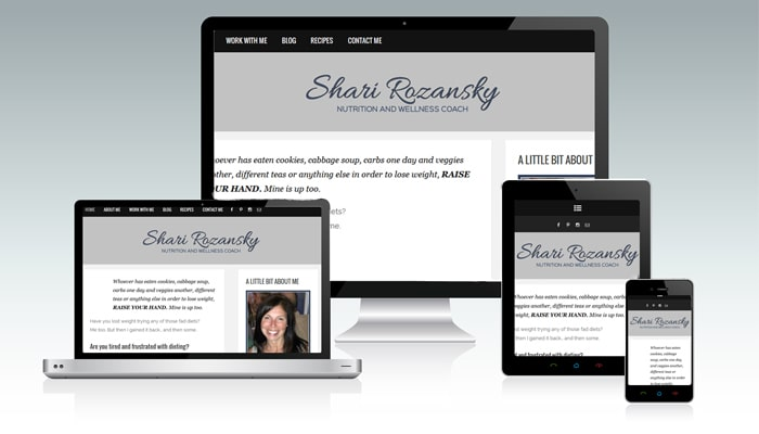 Shari Rozansky WordPress Blog