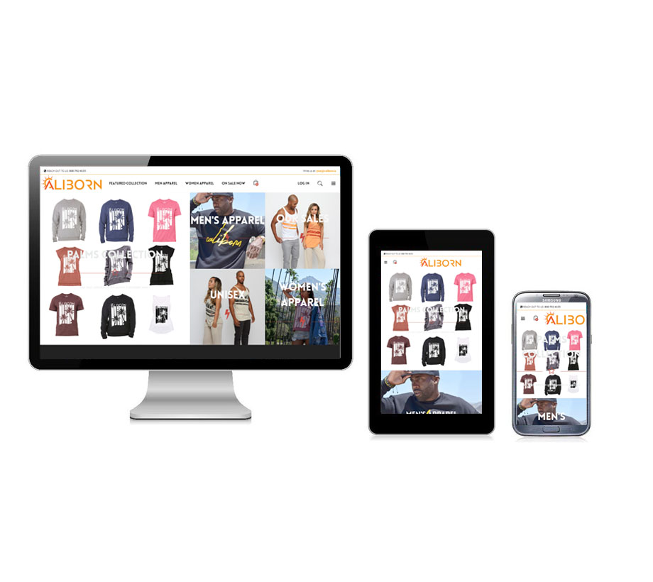 CaliBron Apparel - eCommerce