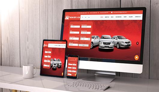 Micro Rent a Car Website